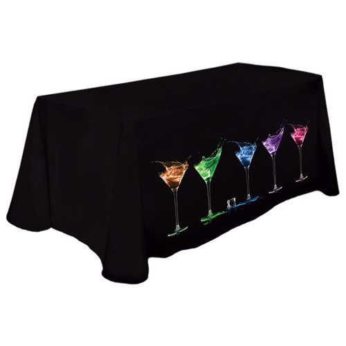 Custom Printed Trade Show Table Covers - 8ft Size