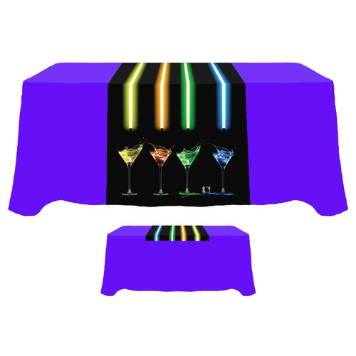 Printed Polyester Trade Show Table Runners