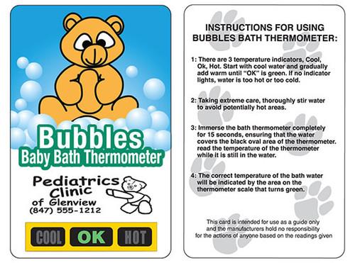 Teddy Bear Bath Safety Thermometers