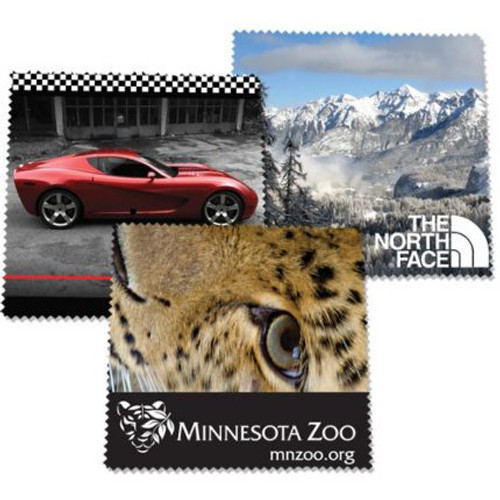 Promotional Microfiber Cloths - 6x6 in