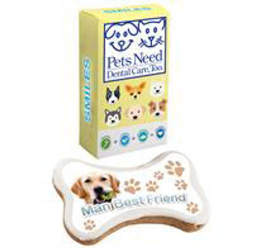 Full Color Logo Dog Treats with Full Color Box