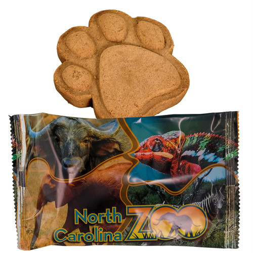 Paw Print Cookies - Full Color Wrapper