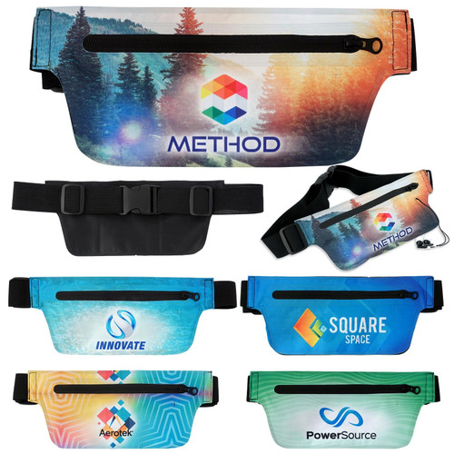 On the Go Pet Fanny Pack - Full Color