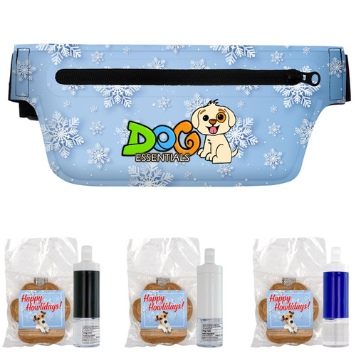On-the-Go Pet Fanny Pack Doggie Set