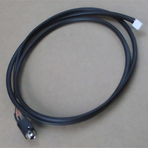 4' DEX Extension Cable w/ Rt.Angle Plug & Bulkhead Jack
