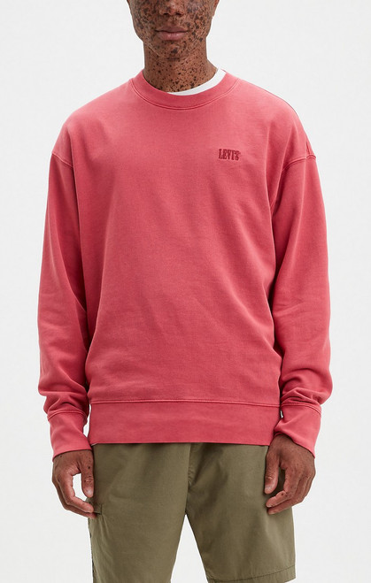 Authentic Logo Crew Earth Red