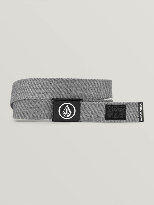 Circle Web Belt Heather Grey