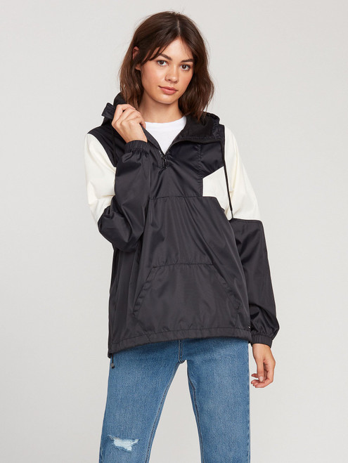 Wind Stone Jacket Black/White