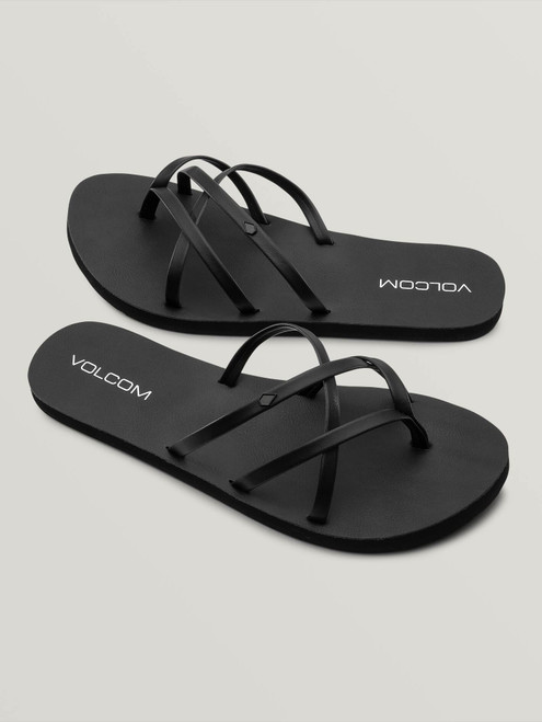 New School II Sandal Blackout