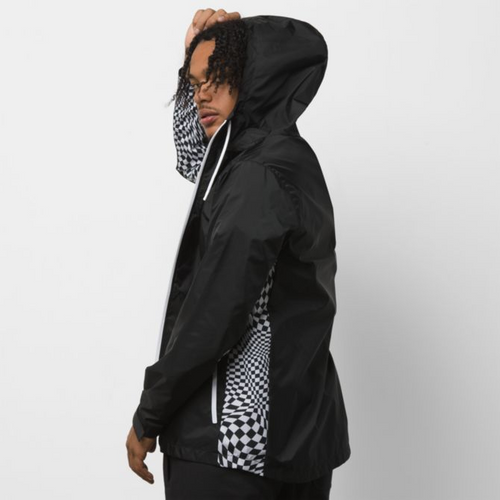 Warp Check Jacket Black