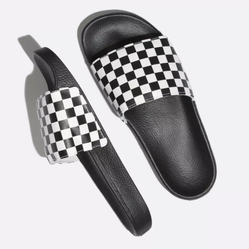 Slide-On Sandal Checkerboard