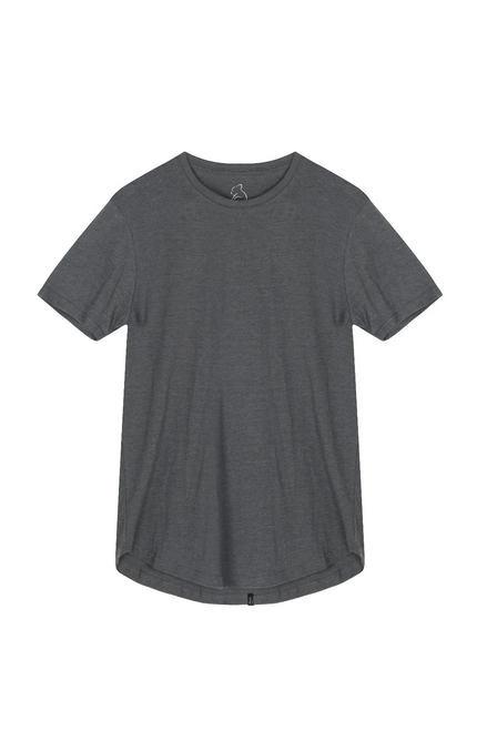Scoop Tee Stone Grey