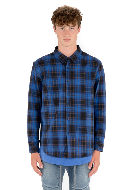 Proper Plaid Electric Blue