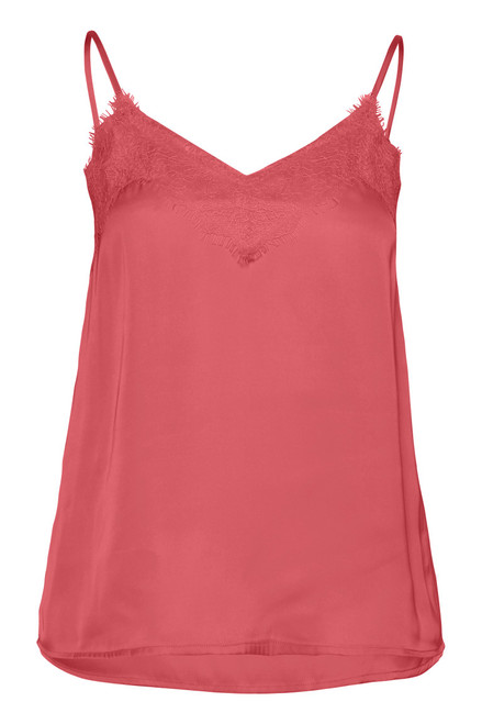 Like Knitted Tank Top Baroque Rose