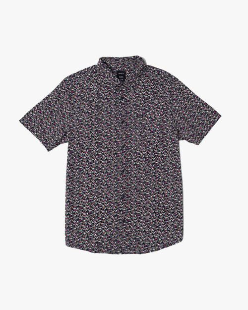 Bellflower Short Sleeve Woven Black