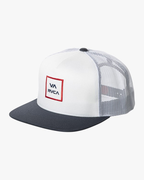 VA All The Way Trucker White/Red