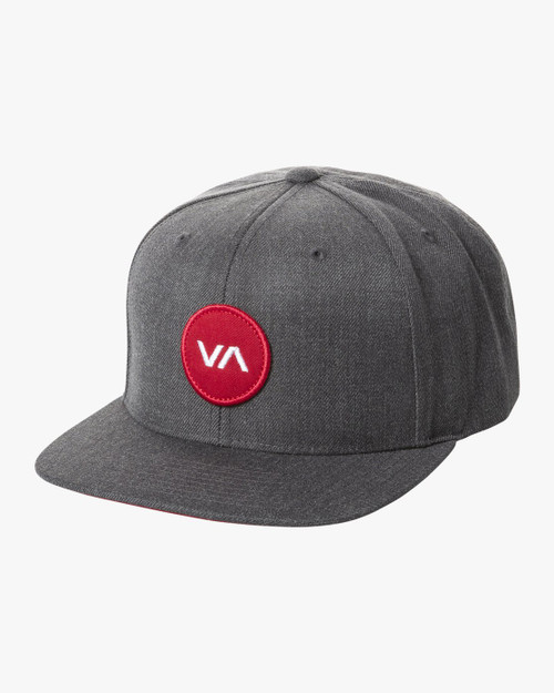 VA Patch Snapback Charcoal Heather