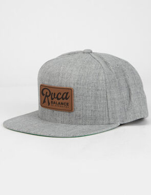 Stokes Snapback Heather Grey