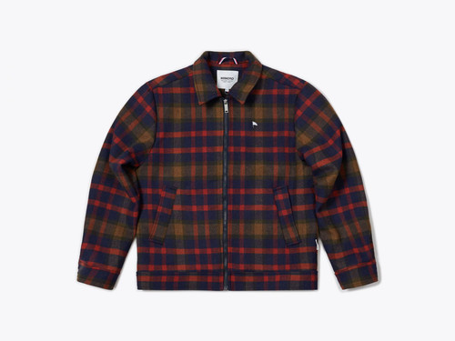 Donnie Cruiser Jacket Blue/Red