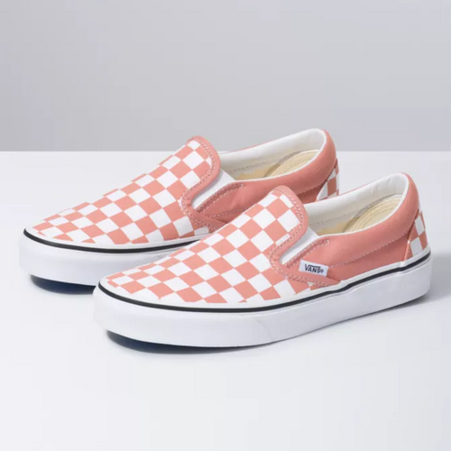 Classic Slip On Checkerboard Rose