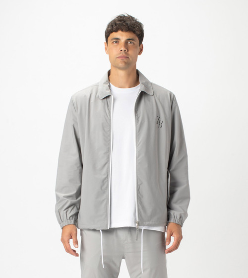 Avalon Coach Jacket Grey Ice