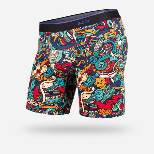 Classic Boxer Brief Print fiesta Multi