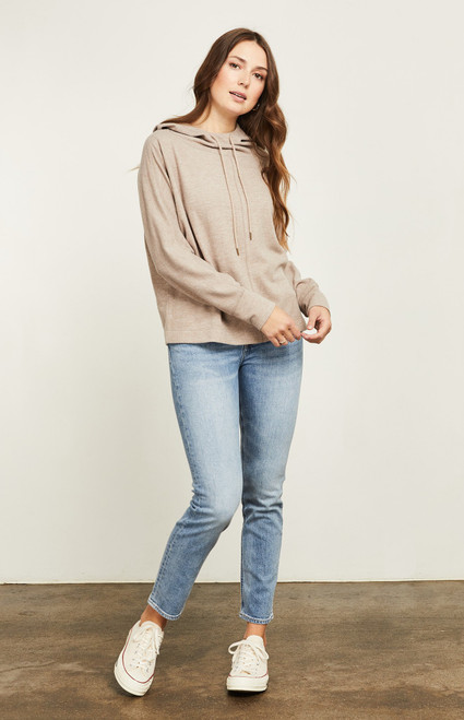 Arlo Hoodie Heather Brown