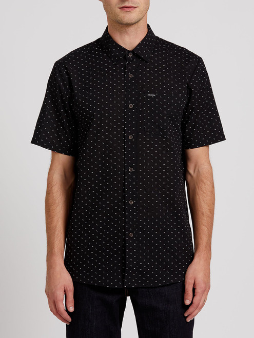 Stallcup Short Sleeve Shirt Black