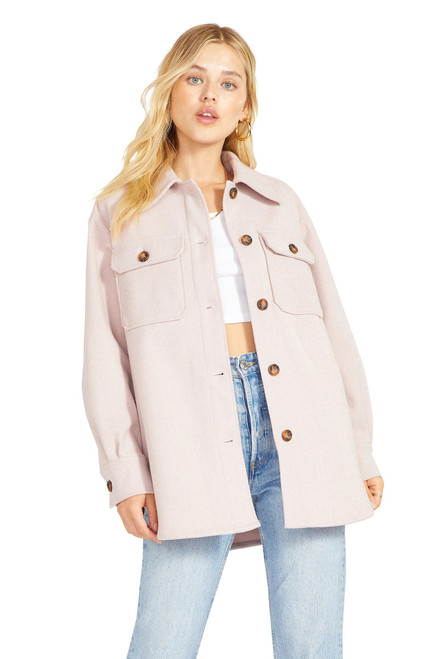 Thats Just It Jacket Pale Pink