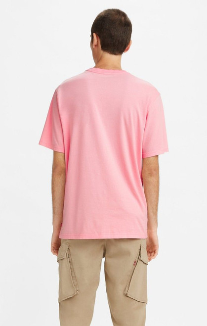 Short Sleeve Relaxed T-Shirt Powder Pink Graphic