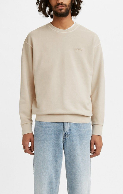 Relaxed Fit Crew Pumice Stone