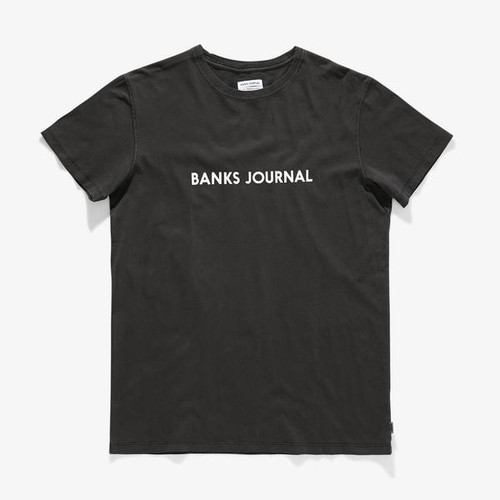 Label Primary Classic T-Shirt Dirty Black