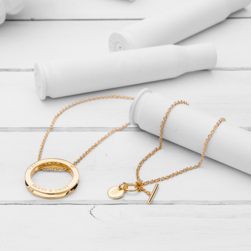 Unity Gold Necklace