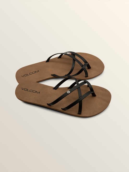New School Sandal Black