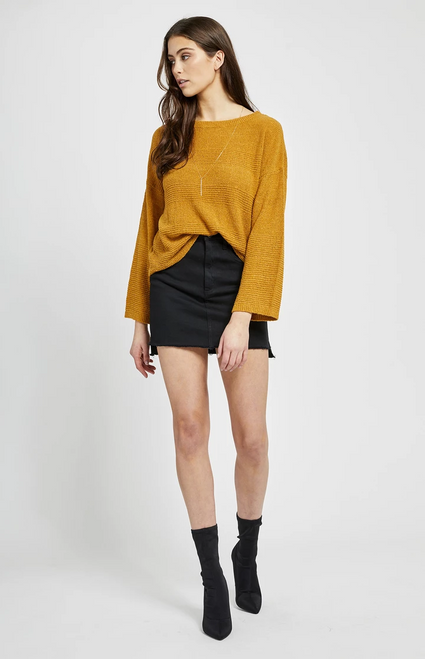 Anchorage Sweater Honey Mustard