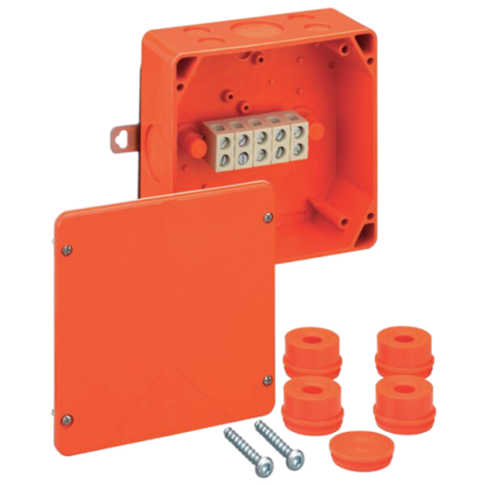 Spelsberg WKE 4 Fire Rated Junction Box c/w 5 x 16mm² Terminals
