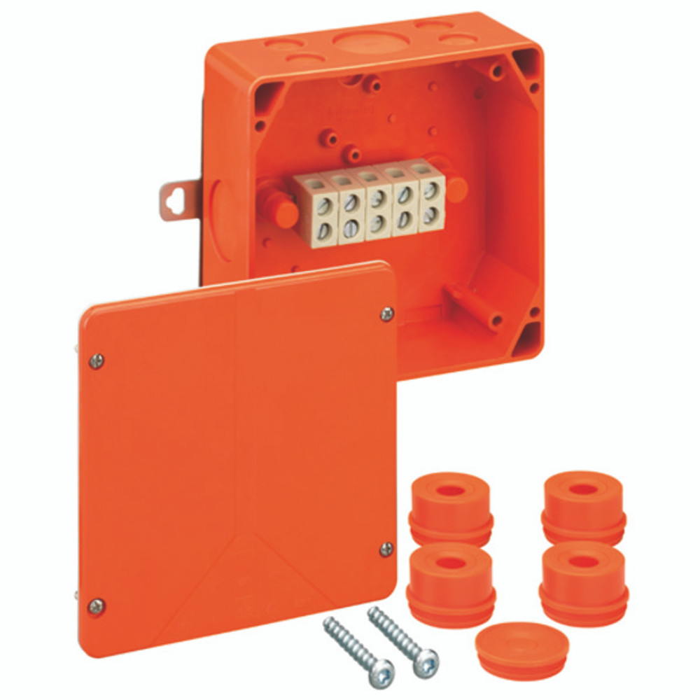Spelsberg WKE 4 Fire Rated Junction Box c/w 8 x 6mm² Terminals