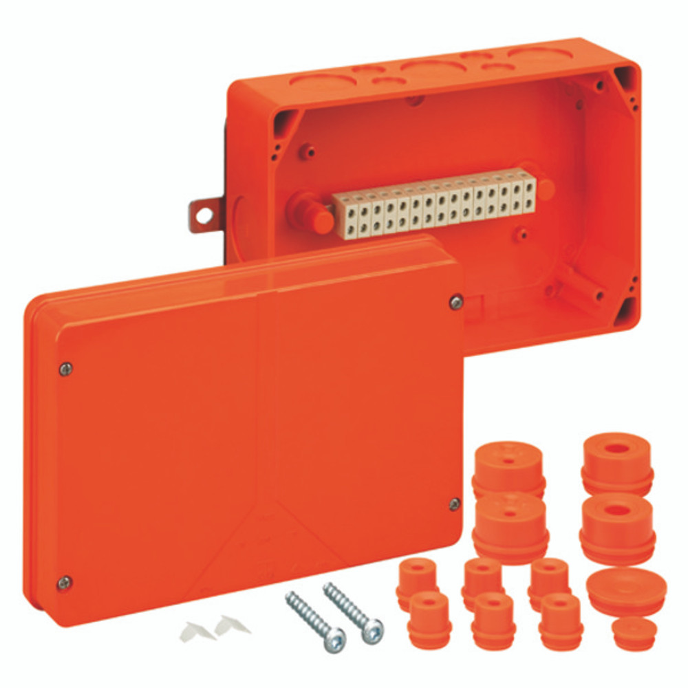 Spelsberg WKE 5 Fire Rated Junction Box c/w 15 x 6mm² Terminals
