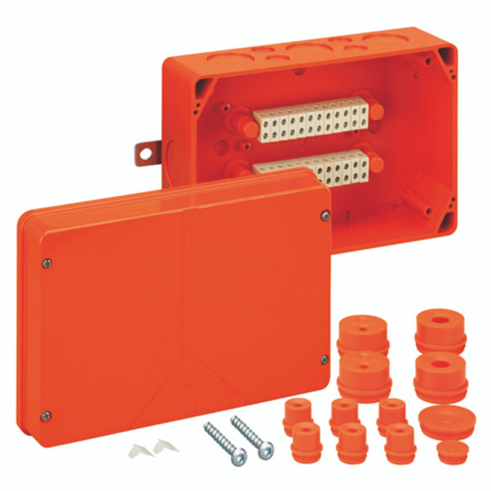 Spelsberg WKE 5 Fire Rated Junction Box c/w 24 x 6mm² Terminals