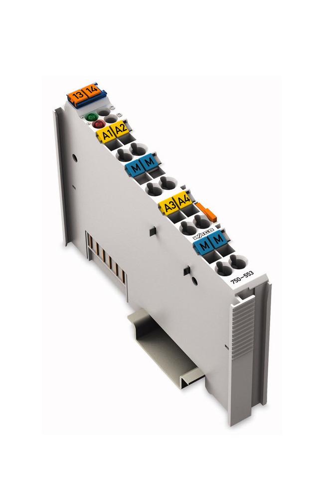Wago 750-553   4 Channel 0-20mA Analog Output Module