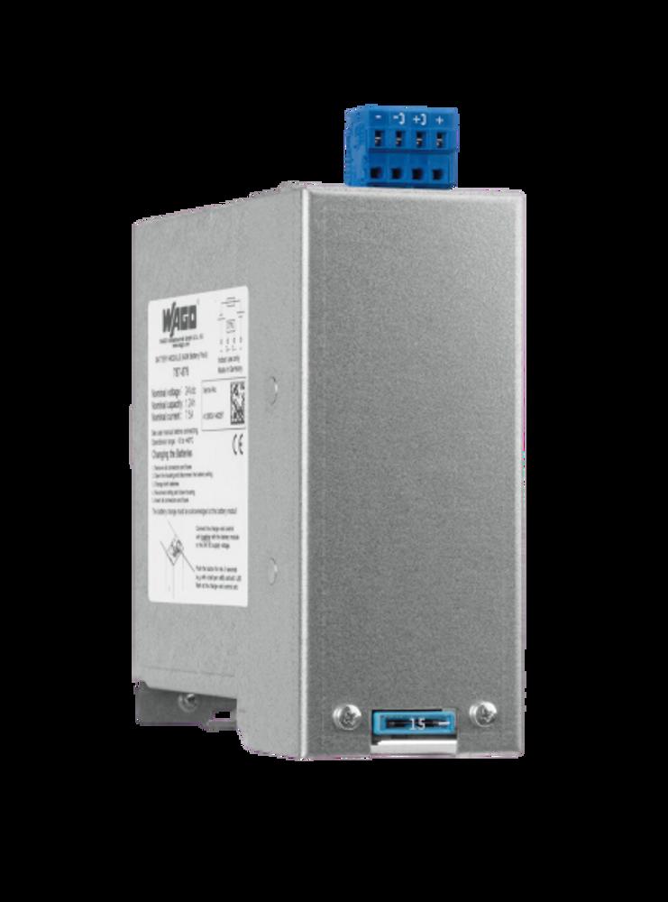 WAGO EPSITRON® CLASSIC Lead Acid Battery Module UPS 24VDC 7.5Amp 1.2Ah