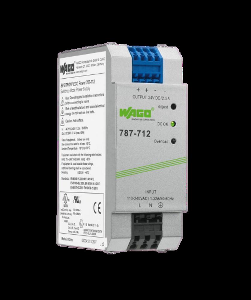 WAGO EPSITRON® ECO Power Supply Unit 24VDC 2.5Amp Version