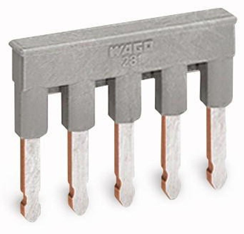 WAGO comb jumper bar, 5 way