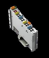 WAGO 4-channel analog input; 0 … 20 mA; Single-ended
