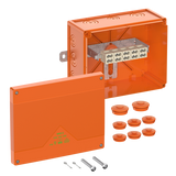 WKE 6 - Duo 5 x 10² Fire Rated Junction Box