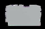 Wago End and Intermediate Plate 2002-1291