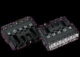 Wago Plug; 5-pole; Cod. A; 4,00 mm²; black