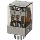 FINDER 60 Series 3Pole 11Pin 10Amp 110V AC Relay