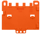 Wago 222-505 Strain relief plate for 222 series