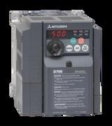MITSUBISHI D740 2.2kW VSD 3Phase 400V 5Amp Rating